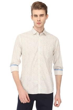 Mens Slim Fit Printed Casual Shirt