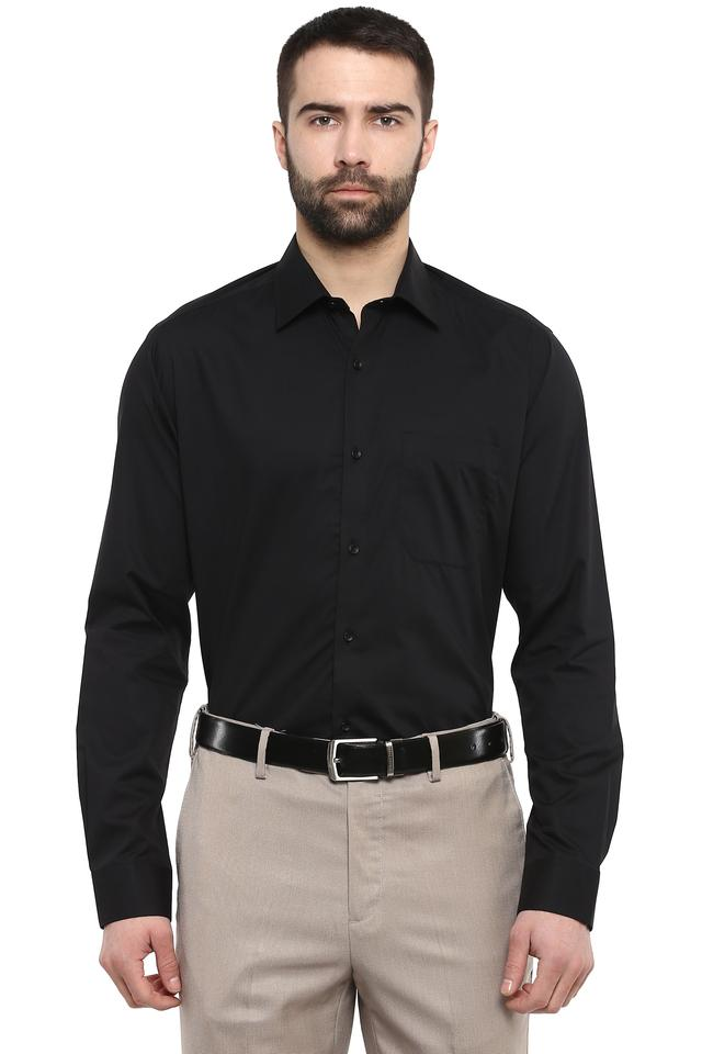 STOP - BlackFormal Shirts - Main