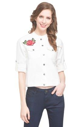 Womens Embroidered Jacket