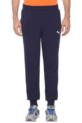 Mens 2 Pocket Solid Joggers