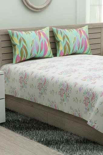 IVY -  Pink Mix Bed Sheets - Main