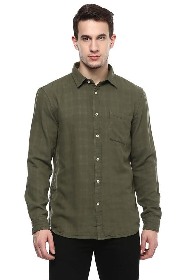 Mens Checks Casual Shirt