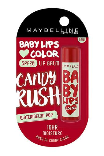Womens Baby Lips Candy Rush Lip Balm