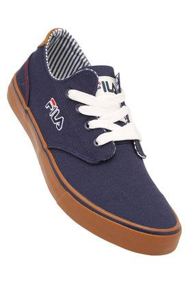 Mens Canvas Lace Up Casual Shoes
