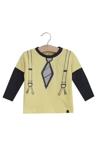 UFO BABY -  Yellow Topwear - Main