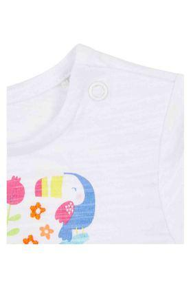 Kids Round Neck Printed Top - Pack of 2