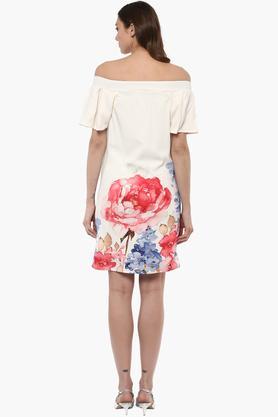 Womens Off Shoulder Casual Dress