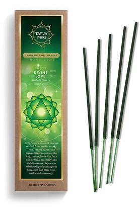TATVAYOG Divine Love Incense Stick - Pack Of 30