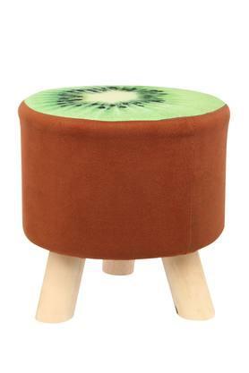 Round Kiwi Printed Stool