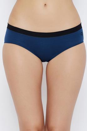 Womens Solid Hipster Briefs Pack of 3