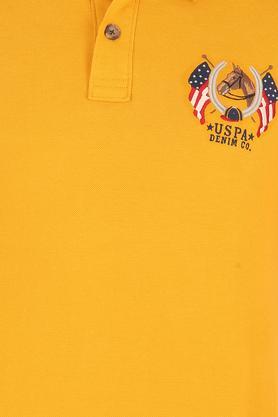 U.S. POLO ASSN. DENIM - Imperial YellowT-Shirts & Polos - 4