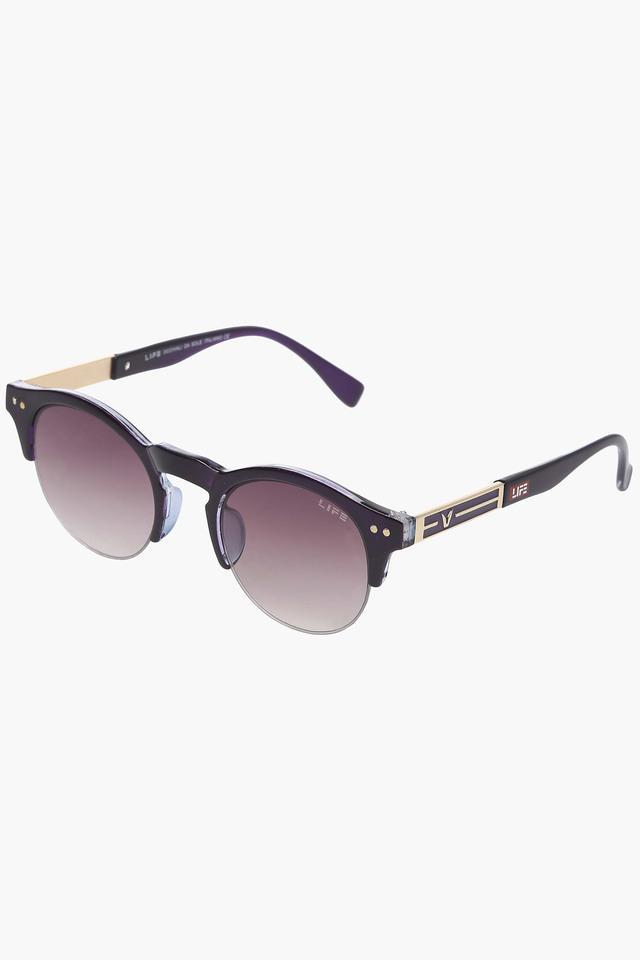Unisex Non Polarized Round Sunglasses LIO48C11