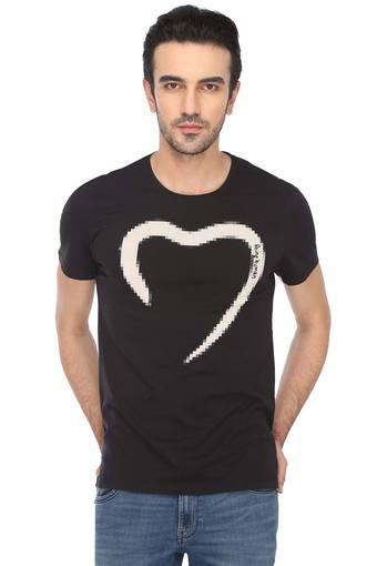 BEING HUMAN -  Black T-shirts - Main
