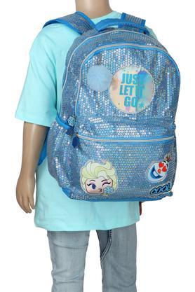 Girls Sequined Zip Closure School Bag