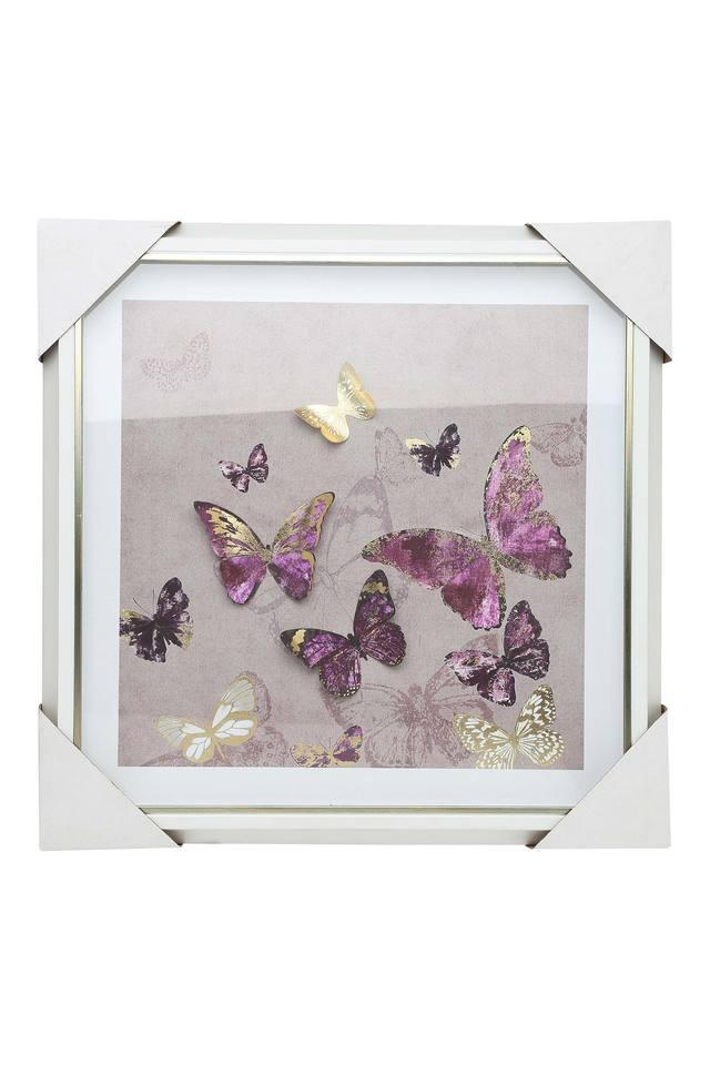 Square Frame Butterfly Painting