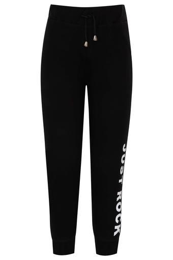 Boys Solid Casual Track Pants