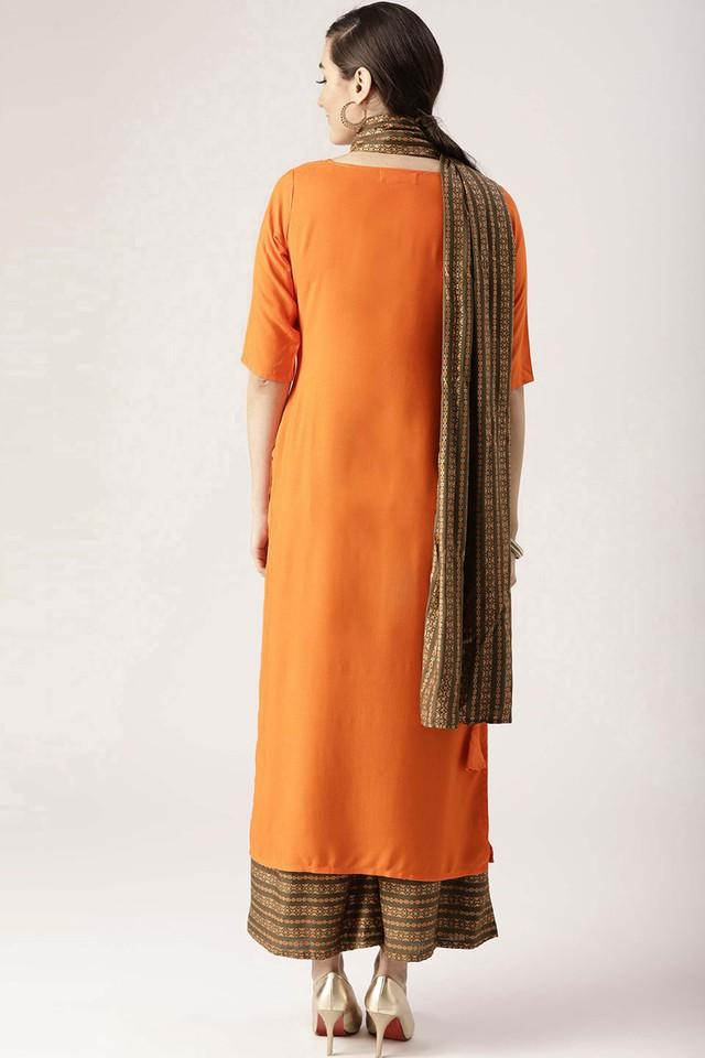 Womens Notched Solid Palazzo Suit