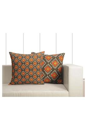 Geometric Printed Cushion Cover Set Of 2