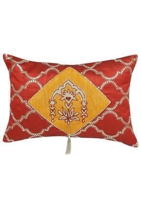 Rectangular Embellished Cushion Cover