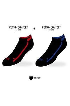 Mens Solid Socks Pack of 2