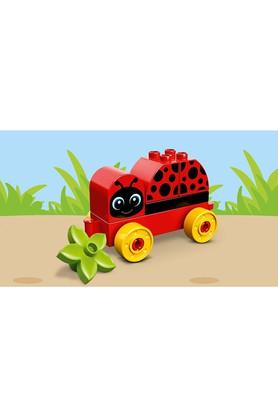 Unisex My First Ladybug Car Building Blocks