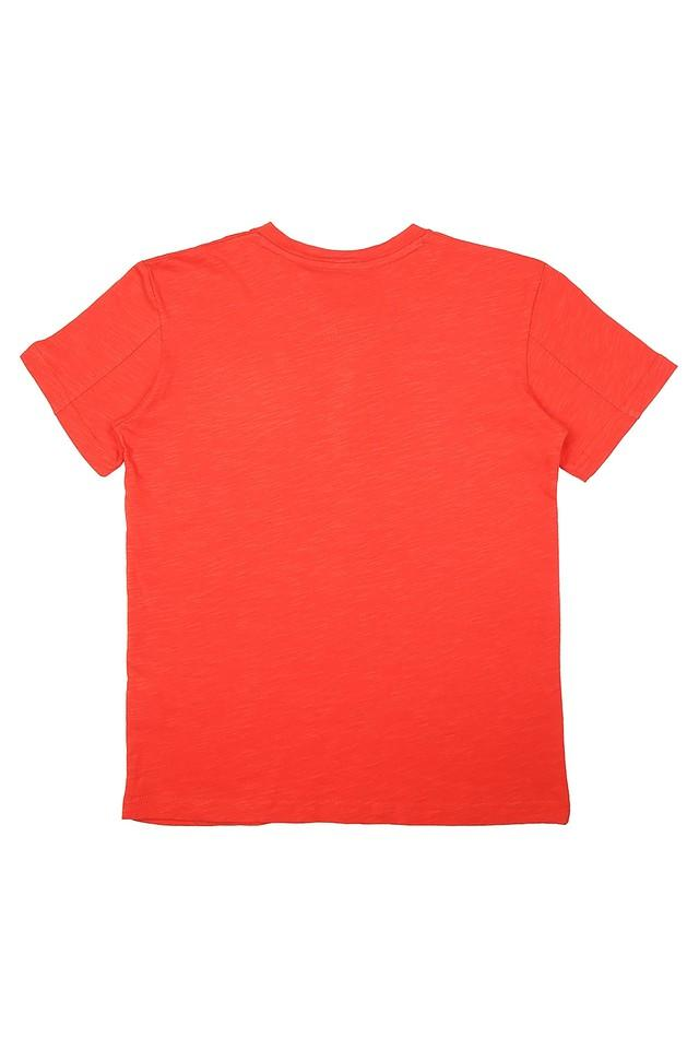 Boys Round Neck Graphic Print Tee - Pack Of 2