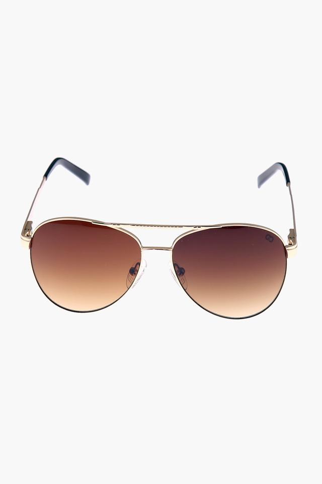 Womens Aviator Polycarbonate Sunglasses - GM6071C10