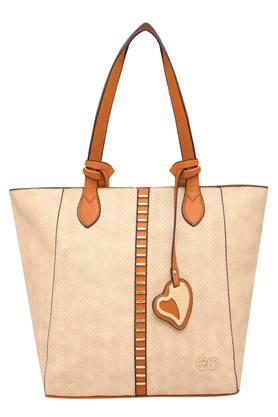 E2O Womens Zipper Closure Tote Handbag - 203461168_9212