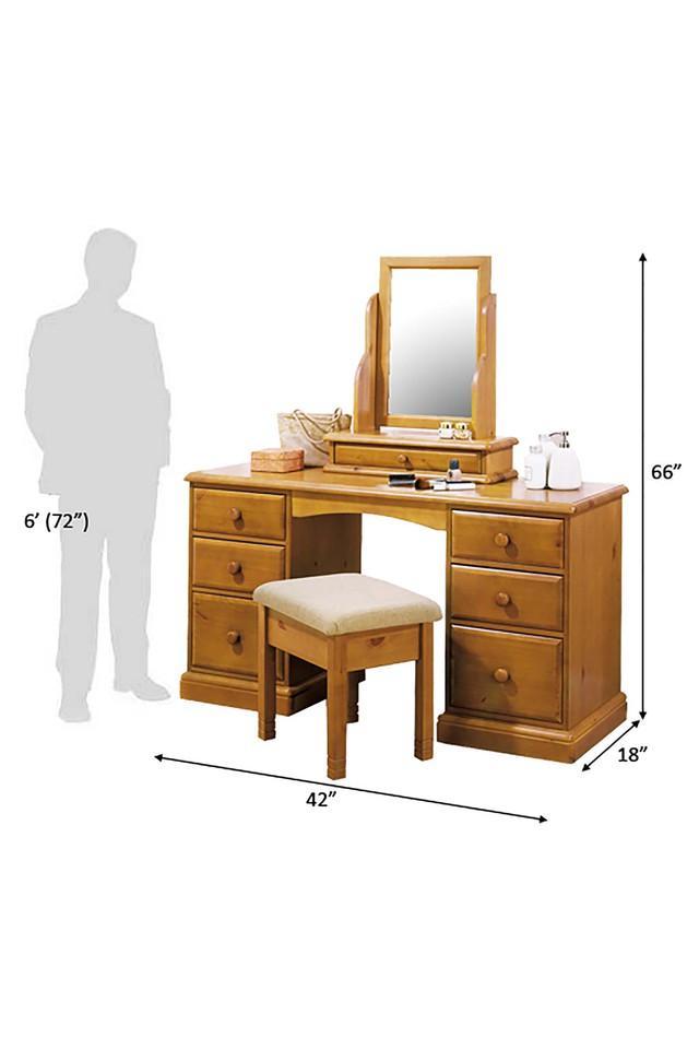 Brown Mason Dressing Table