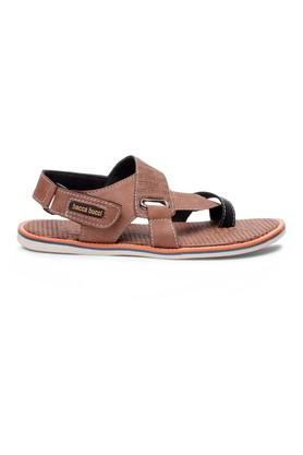 4515b97a1 X BACCA BUCCI Mens Synthetic leather Velcro Closure Sandals
