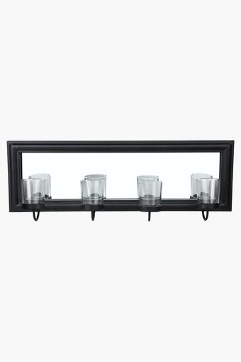 4 in 1 Metal Wall Sconce with Mirror
