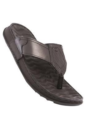 FRANCO LEONE Mens Leather Casual Wear Slippers