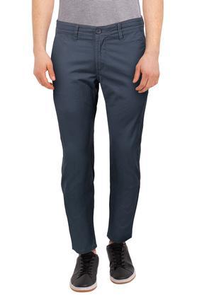 Mens 5 Pocket Printed Trousers