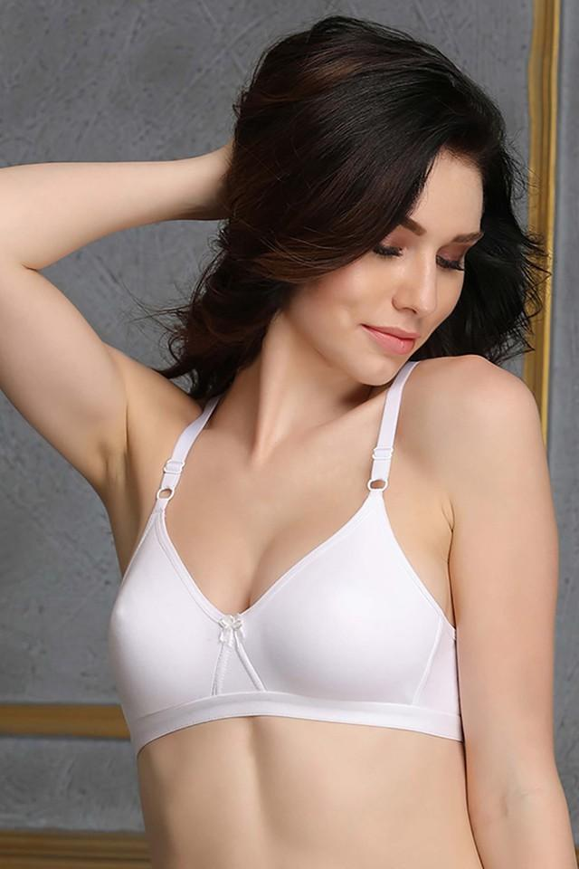 Womens Non Padded Non Wired Solid T-Shirt Bra