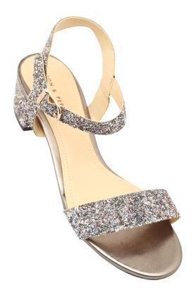 ecdcecc5d6f X LEMON   PEPPER Womens Casual Wear Buckle Closure Heeled Sandals. LEMON    PEPPER. Womens Casual ...