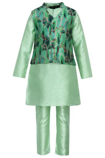 STOP -  Sea Green Indianwear - Main