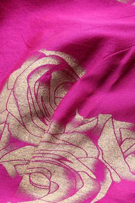 Womens Round Neck Floral Print Crop Top