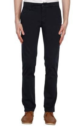 LOUIS PHILIPPE SPORTSMens 5 Pocket Solid Chinos - 203650290