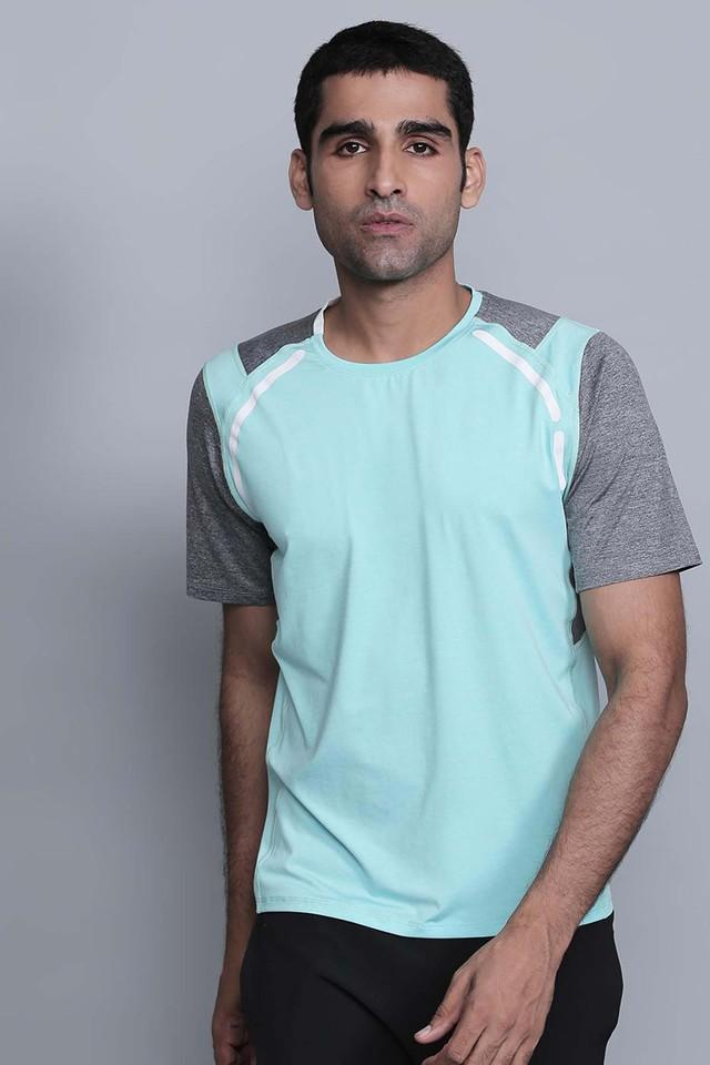 Mens Round Neck Solid T-Shirts