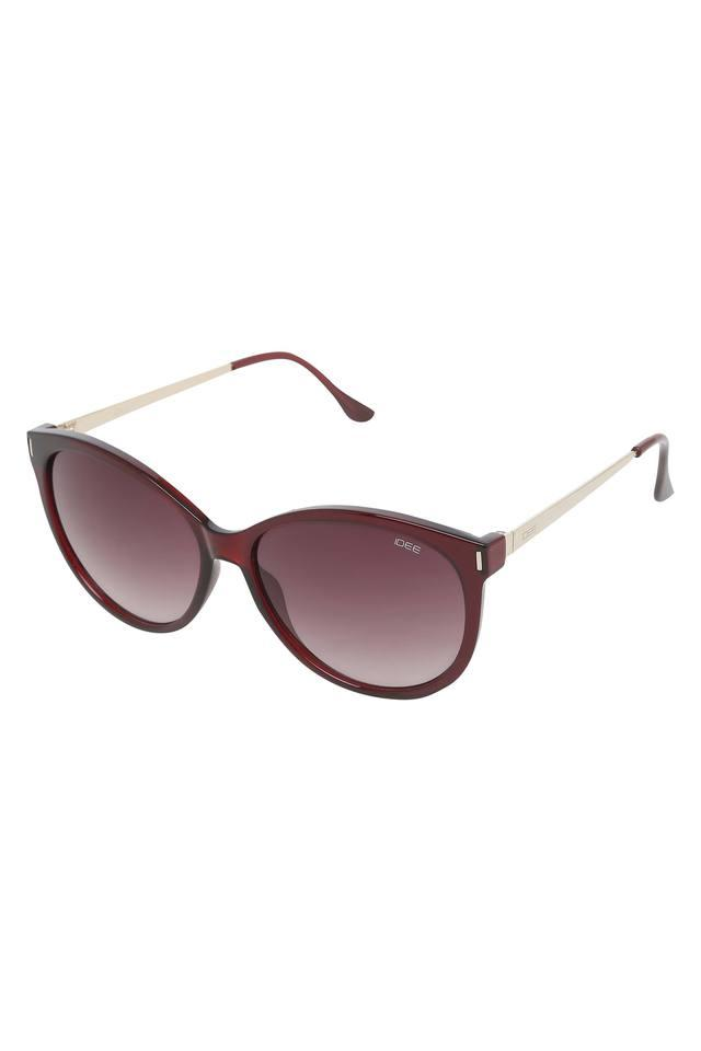 Womens Cat Eye UV Protected Sunglasses - IDS2522C3SG