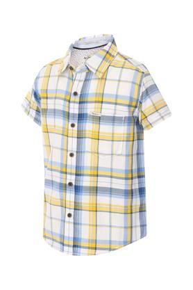 Boys Checks Casual Shirt