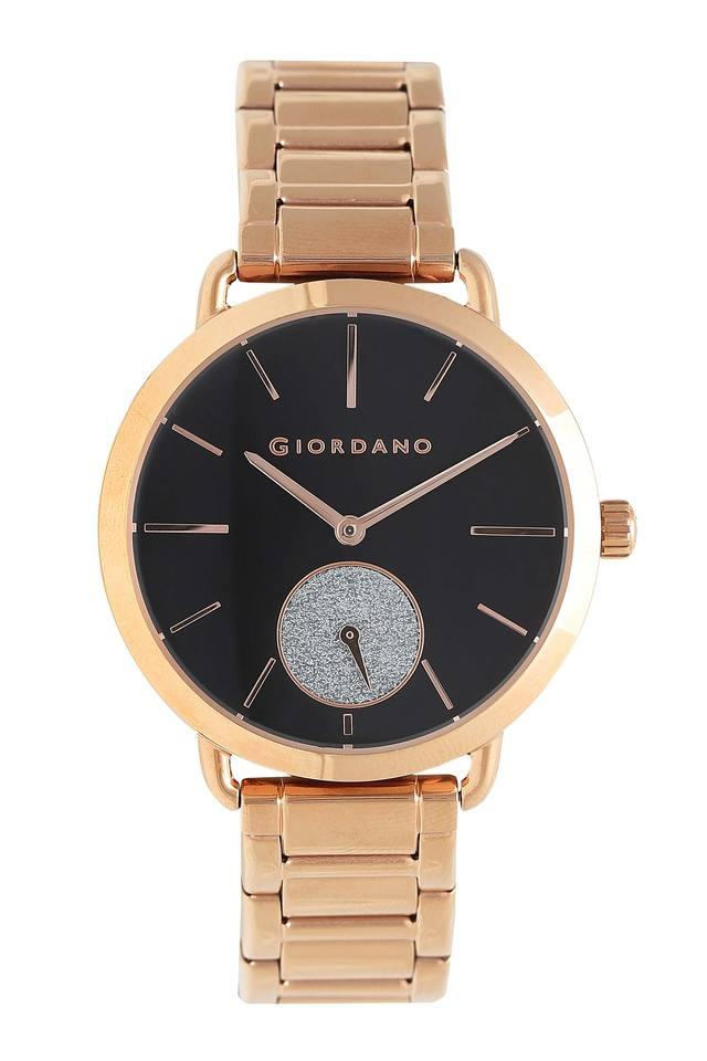 Womens Black Dial Analogue Watch - GD-2022-44