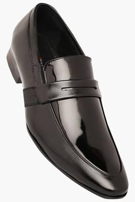 VETTORIO FRATINI Mens Patent Leather Slipon Loafers
