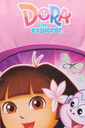 Girls Dora Zip Closure School Bag