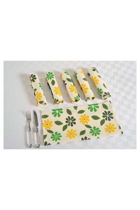 SWAYAMPrinted Dinner Napkin Set Of 6 - 204600021_9407
