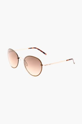 Womens Round Polycarbonate Sunglasses - 2129 C3 S