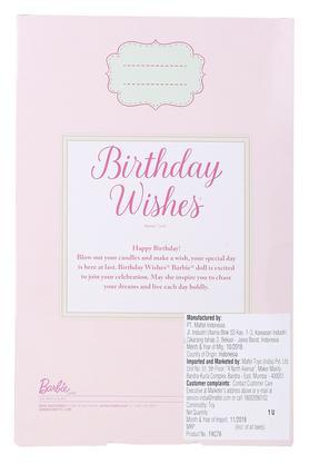 Girls Birthday Wishes Barbie Doll