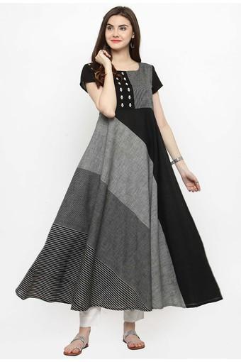 VARANGA -  C057 GreySalwar & Churidar Suits - Main