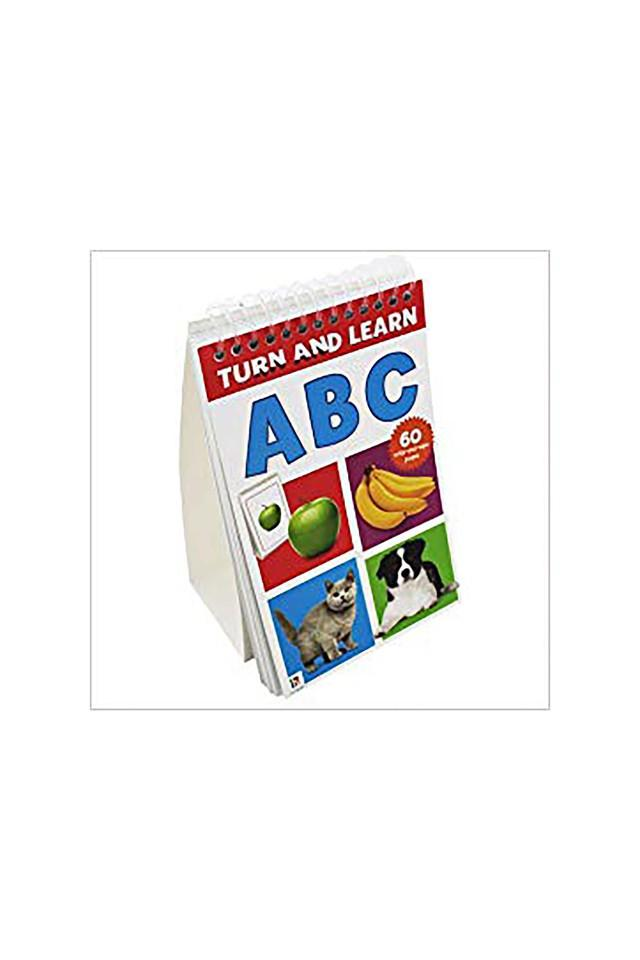 Turn and Learn Flip Pad: Abc