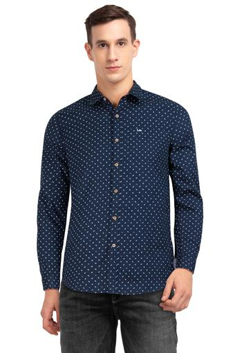 B179 -  Navy Casual Shirts - Main